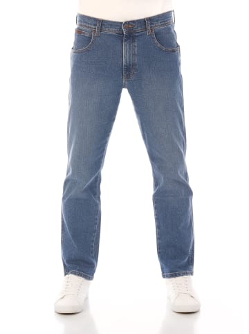 Wrangler Jeans Texas Stretch Contrast Straight regular/straight in Blau