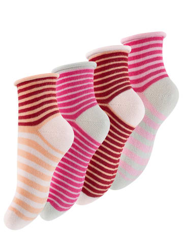 Cotton Prime® Kinder Söckchen 8 Paar, mit Rollgummi in Bunt