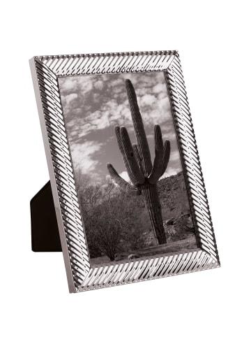 Butlers Metall Bilderrahmen glänzend 13x18 cm MEMORIES in silber
