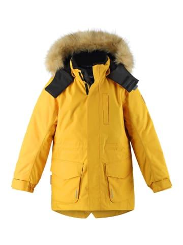 """Reima Winterjacke """" Naapuri """" in Warm yellow"""