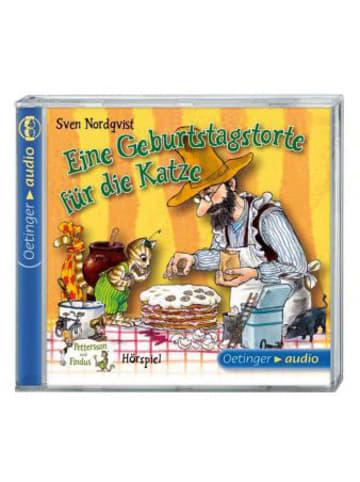 Pettersson und Findus Pettersson & Findus: Eine Geburtstagstorte für die Katze, 1 Audio-CD