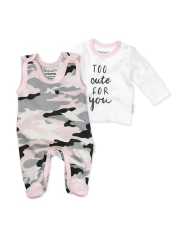 Baby Sweets 2tlg Set Strampler + Shirt Too Cute For You in bunt