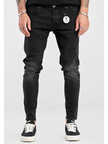 2Y Jeanshose JONAS in schwarz