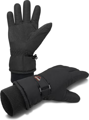 Normani Winterhandschuhe mit 3M Thinsulate™ (40 g) Snowguard Pro in Schwarz