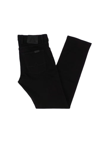 ALBERTO Straight Leg Jeans in schwarz
