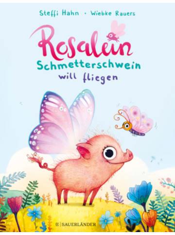 FISCHER Sauerländer Rosalein Schmetterschwein will fliegen