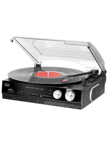 Trevi Vintage Stereo in schwarz