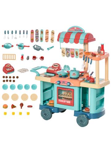 HOMCOM Spielküche in Bunt