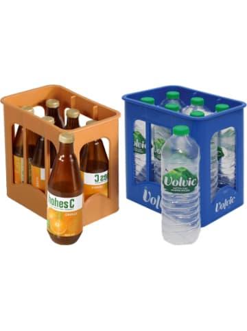 Chr. Tanner Spiellebensmittel Getränkekisten Volvic & Hohes C