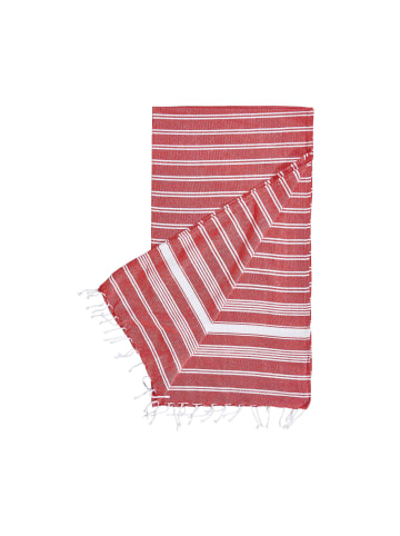 Butlers Hamamtuch 90x170 cm SURFSIDE in Rot