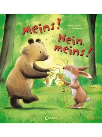 Loewe Verlag Meins! Nein, meins!