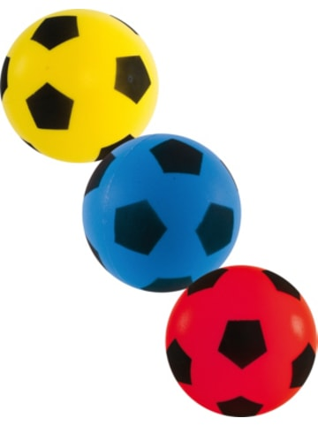 John Soft Fußballset 3-tlg., Ø 7cm, sortiert
