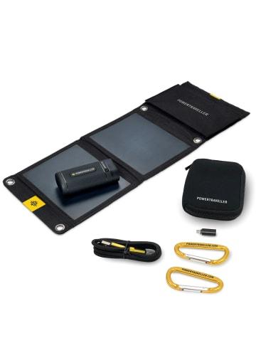 Powertraveller Solarpaneel & Powerbank Sport 25 in schwarz