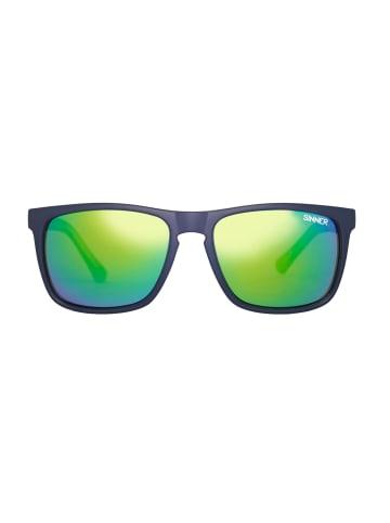 Sinner Sonnenbrille SINNER Oak Polarised Sunglasses in dark blue green