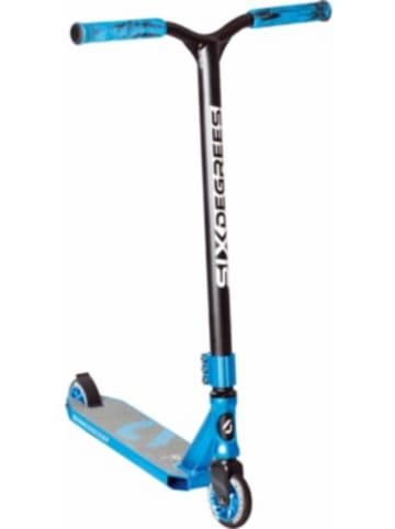 SIX DEGREES Stuntscooter 100 mm, blau
