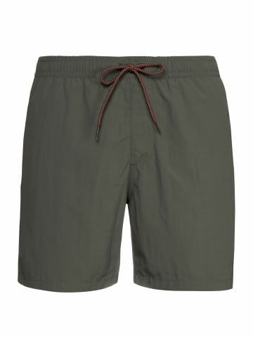 """Protest Badeshort """" FAST in Grey Green"""