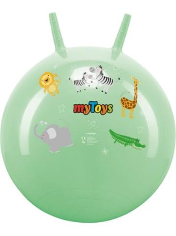 MyToys Hüpfball Zootiere, mint