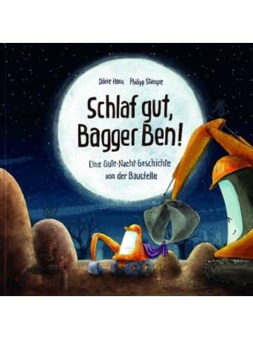 Lingen Verlag Schlaf gut, Bagger Ben! Eine Gute-Nacht-Geschichte von der Baustelle
