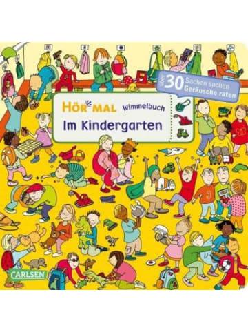 Carlsen Hör mal (Soundbuch): Wimmelbuch: Im Kindergarten