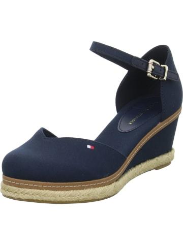 Tommy Hilfiger Sandaletten BASIC CLOSED TOE MID in Blau