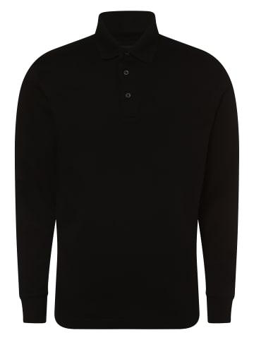 Mc Earl Poloshirt langarm in schwarz