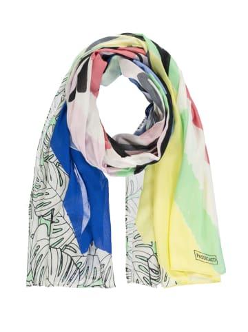 Passigatti Schal Less Monday More Summer in multicolour