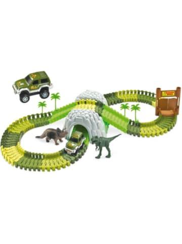 AMEWI Magic Traxx Dino-Par, Mini Set, mit Tunnel 109-teilig