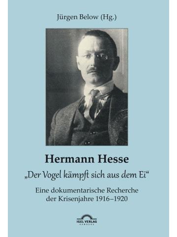 """Igel Records Hermann Hesse: """"Der Vogel kämpft sich aus dem Ei"""". Eine dokumentarische..."""