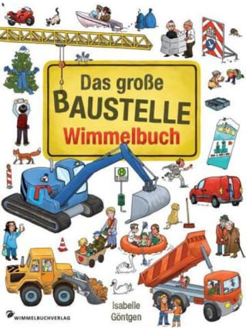 Wimmelbuchverlag Das große Baustelle Wimmelbuch