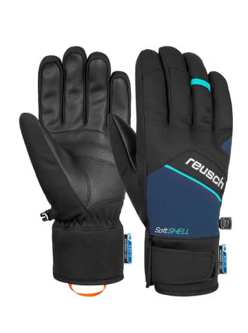 Reusch Fingerhandschuh Luke R-TEX® XT in black / dress blue