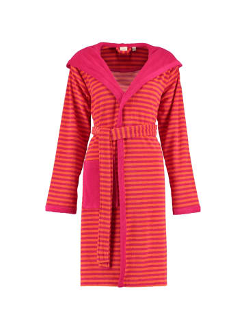 ESPRIT Bademäntel Kapuze Striped Hoody in raspberry - 001