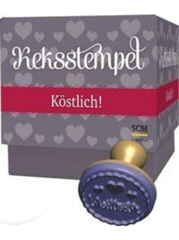 "SCM R. Brockhaus Keksstempel-Set ""Köstlich!"" | mit Rezeptbuch"