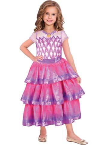 Amscan Kostüm Barbie Edelstein Ballkleid, 1-tlg.