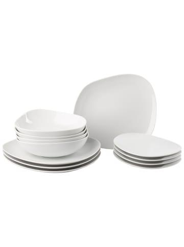 Like. by Villeroy & Boch Starter Teller Set 12tlg. Organic White in weiß