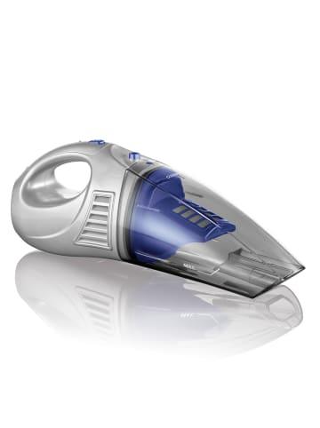 CLEANmaxx Akku-Handstaubsauger in Blau / Silber