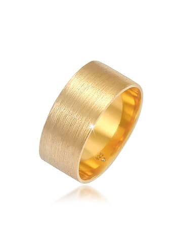Elli Ring 925 Sterling Silber Bandring in Gold