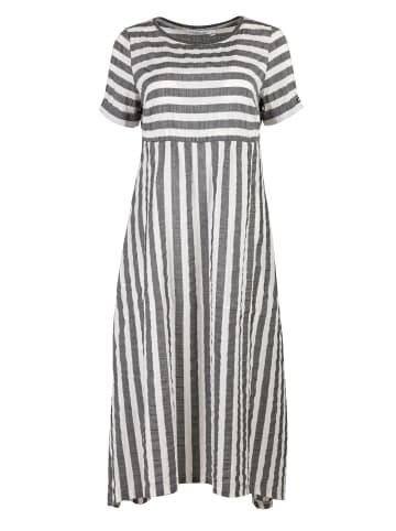 HELMIDGE A-Linien-Kleid Sommerkleid in grau