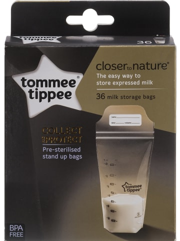 Tommee tippee Muttermilchbeutel, Closer to Nature, 36er Set