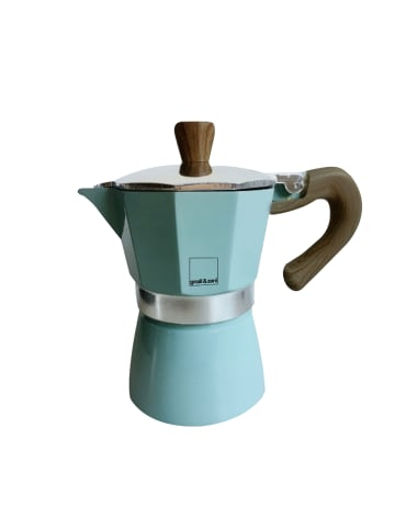 Gnali&Zani Espressokocher Venezia in blau - 6 Tassen
