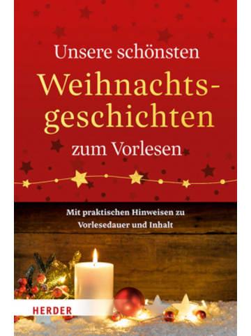 Herder Freiburg Unsere schönsten Weihnachtsgeschichten zum Vorlesen