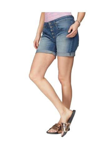Please Shorts in Blau