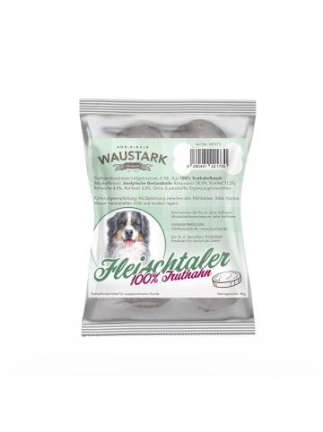 Waustark Premium luftgetrocknete Fleischtaler für Hunde 100% Truthahn, 6 Stck. (ca. 36g)
