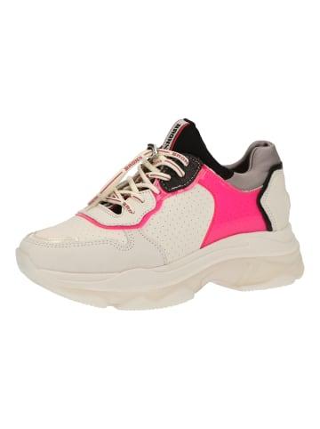 Bronx Sneaker in Weiß/Pink