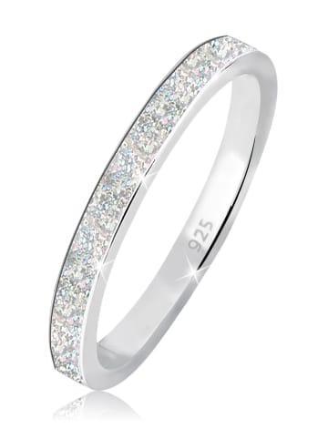 Elli Ring 925 Sterling Silber Bandring in Silber