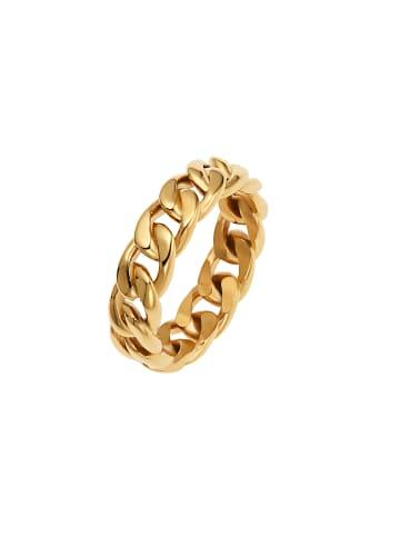 Noelani Ring Edelstahl, IP Gold in Gold