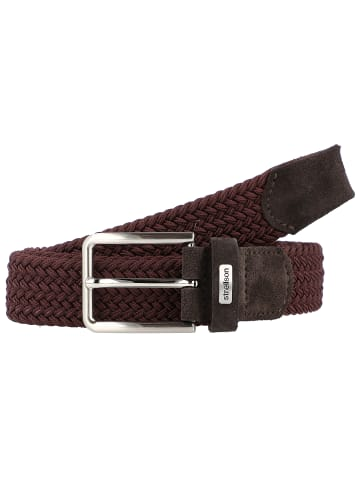 Strellson Flex Cross Gürtel in dark brown