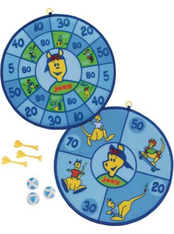 Hudora joey Kinderwurfscheibe, Klettdartboard