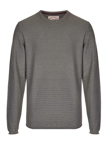 Eagle Denim Strickpullover in grau