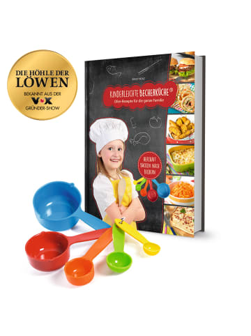"""Kinderleichte Becherküche Becherküche """"Ofen-Rezepte für die ganze Familie - Backset inkl. 5tlg. Messbecher-Set"""""""