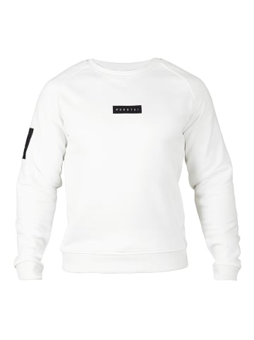 MOROTAI Sweatshirt Small Bloc Logo Sweatshirt in Cremeweiß